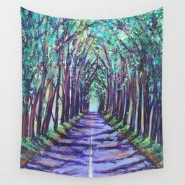 Kauai Tree Tunnel Wall Tapestry