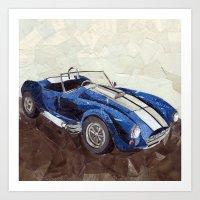 Shelby Cobra Art Print