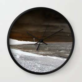 Low Point Invert Wall Clock