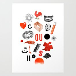 Archive Objects I Art Print