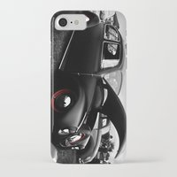 vw iPhone & iPod Cases featuring VW Bug by Gene  Edgar