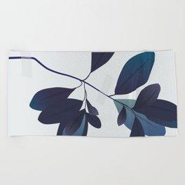 Dried flower Beach Towel