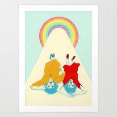 Dreamers Art Print