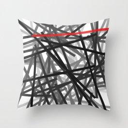 Line 133 Throw Pillow
