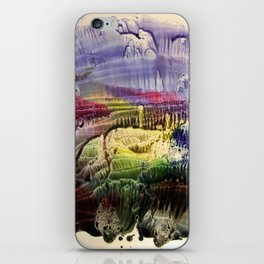 abstract composition 3 . artwork iPhone Skin