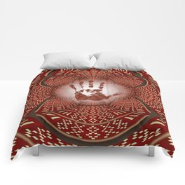 Indian Mandala Woven One Comforters