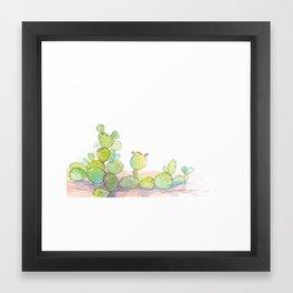 Prickly Pear. Framed Art Print