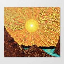 New Day, Same Sun Canvas Print