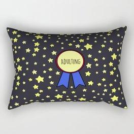 Adulting Award Rectangular Pillow