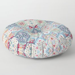Traditional Collage Design Floor Pillow