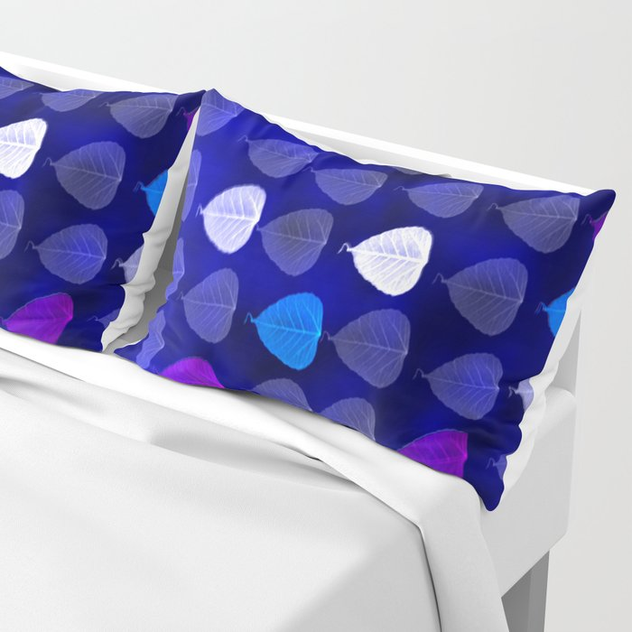 Colorful Leaves Pillow Sham