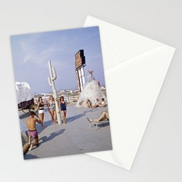 Ranch House Motel in the 1960's. North Wildwood, New Jersey Stationery Cards
