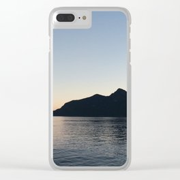 Vancouver Sunset Clear iPhone Case