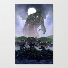 Devil's Reef Canvas Print