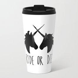 Ride or Die x Unicorns Travel Mug