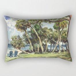 Sarasota Bay from Caples Hal Rectangular Pillow