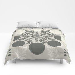 Luna Poetica Comforters