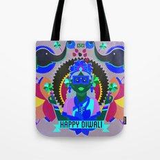Goddess Lakshmi from India Tote Bag
