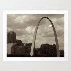 Stormy St. Louis Art Print