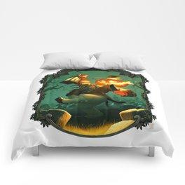 Jack-O-Lantern Comforters