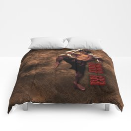 Ong bak Tony Jaa the Muang thai kick boxing Warrior Comforters