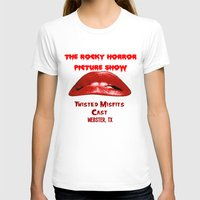 rocky horror picture show T-shirts featuring Rocky Horror Picture Show Cast TShirts by JackieJackal