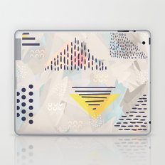 Abstract geometric shapes 04 Laptop & iPad Skin