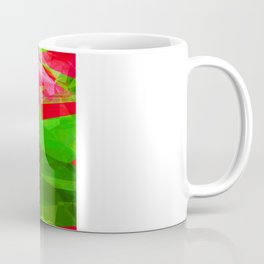 Pink Roses in Anzures 5  Abstract Polygons 1 Coffee Mug