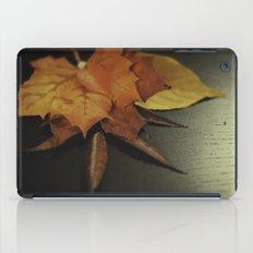 autumn arranged iPad Case