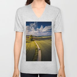 Success is a lonely road Unisex V-Neck