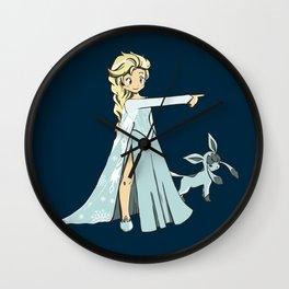 Trainer Elsa Wall Clock