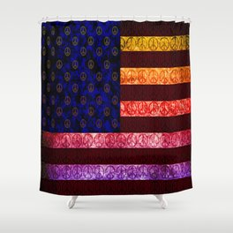 50 SHADES OF PEACE - 079 Shower Curtain