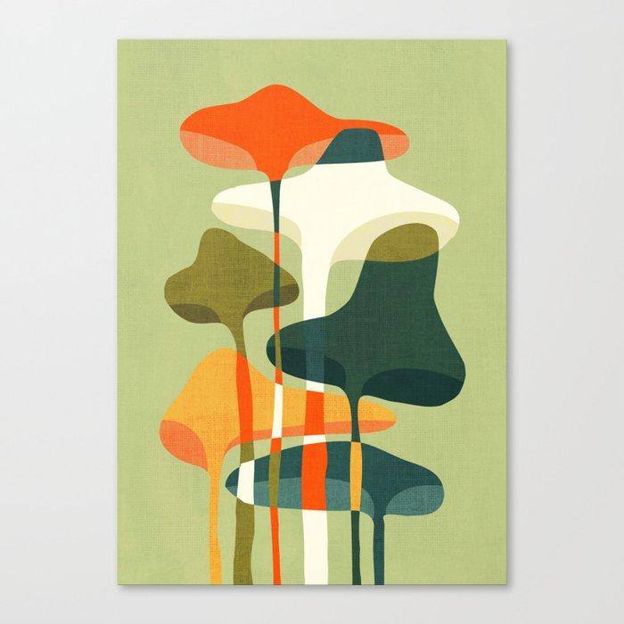 Little mushroom Leinwanddruck