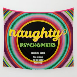 Naughty Psychopixies Wall Tapestry