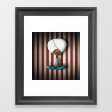 Mr Karma Framed Art Print