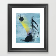 summer tune Framed Art Print