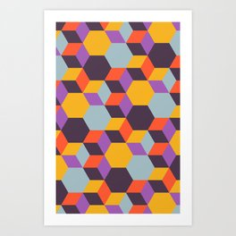 Colmena 32 Art Print