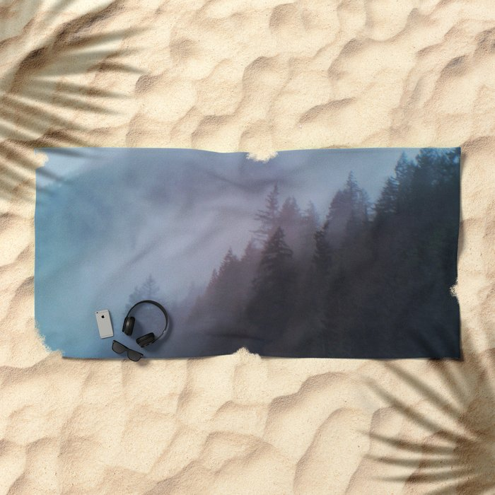 fog Beach Towel