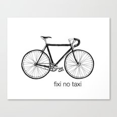 fixi no taxi Canvas Print