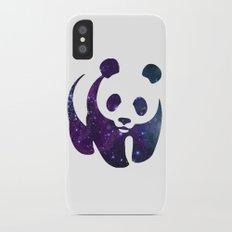 SPACE PANDA iPhone X Slim Case