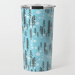 Alpine Forest Travel Mug