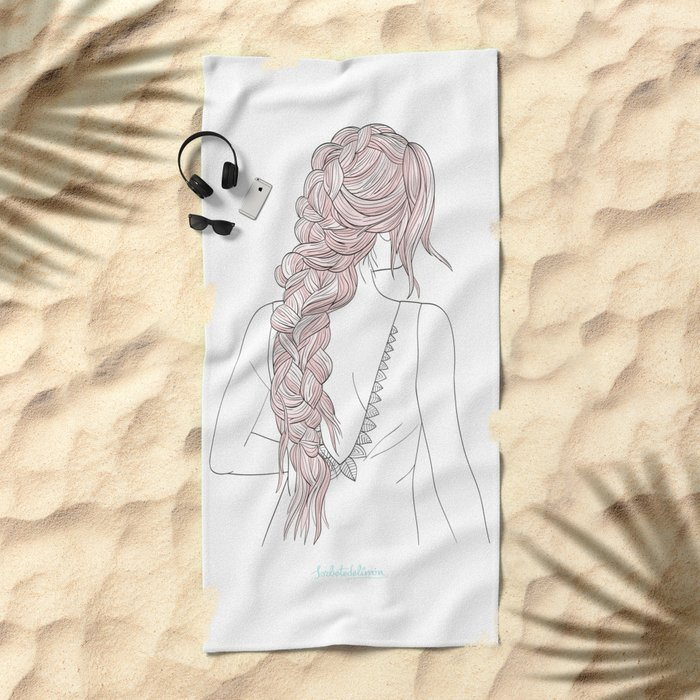 ROSEBRAID Beach Towel