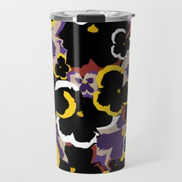 Pansy Love Travel Mug