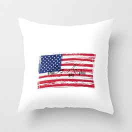 USA | America | Mountain sports | Sports | Snowboarding | Powder Rider | Snowboard Lover | Flag | Throw Pillow