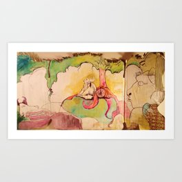 A PLACE IN HEAVEN Art Print