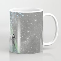 rain Mugs featuring RAIN by Ceren Kilic