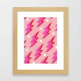 Barbie Lightning Framed Art Print