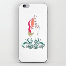 Psycho Parrot iPhone & iPod Skin