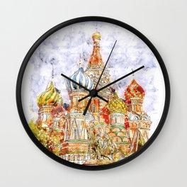 Moskow Wall Clock