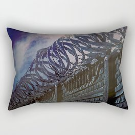 318 Protected Prison Camp Rectangular Pillow